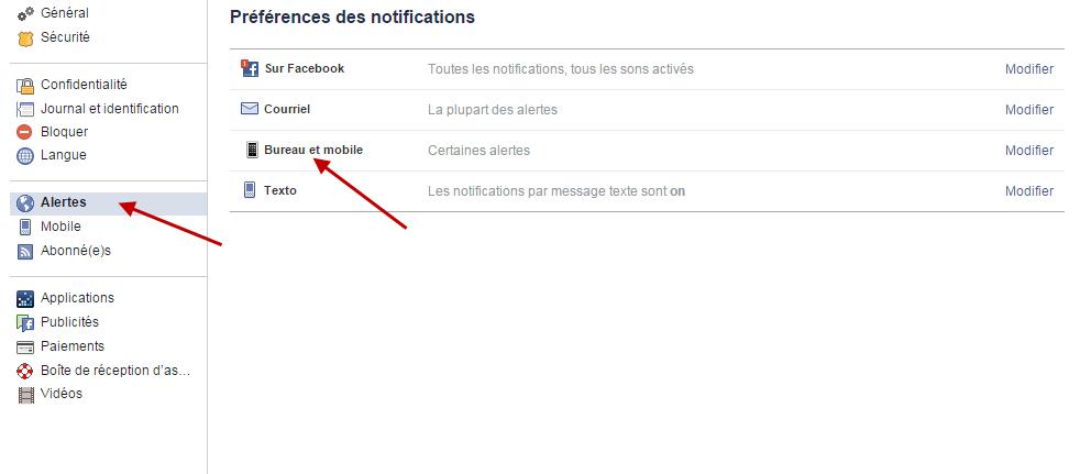 Notification Facebook 1